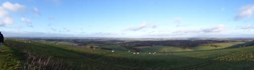 Views from Combe Gibbet