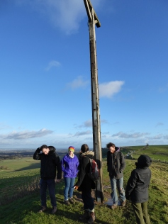 Inspecting the gibbet